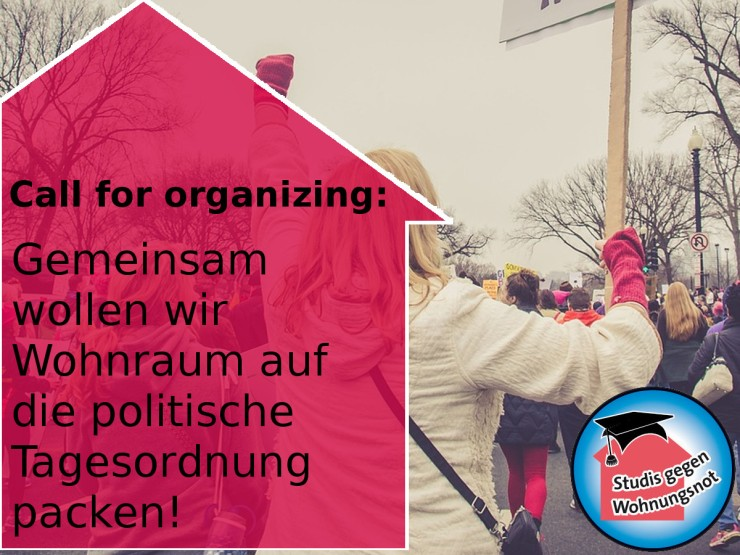 180322_Wohnraum_Call_for_organizing